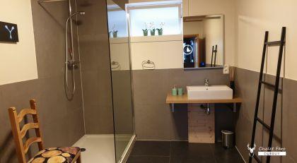 badkamer vakantiehuis chalet faro durbuy