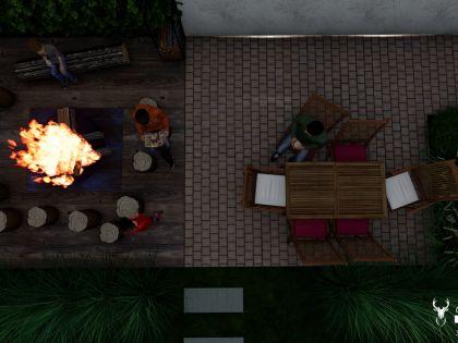 chalet faro - vakantiehuis met jacuzzi huren in durbuy