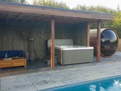 vakantiehuis met hotspring spa huren in durbuy