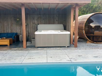 Chalet in de Ardennen met sauna, zwembad en spa