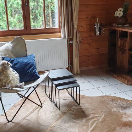 Chalet Faro Durbuy suites met privé zwembad, barrelsauna en spa