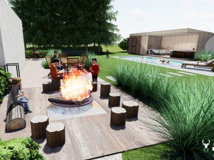 chalet in de ardennen huren met sauna, jacuzzi en zwembad