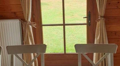 eetplaats vakantiehuis Chalet Faro Durbuy
