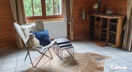 Het salon van de vakantiewoning Chaletfarodurbuy