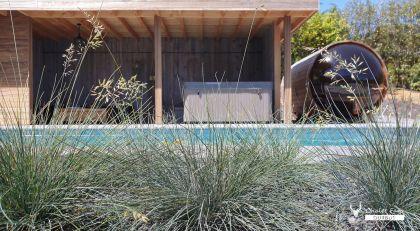 luxe en wellness in Chalet Faro Durbuy Suites met sauna, zwembad, poolhouse en spa