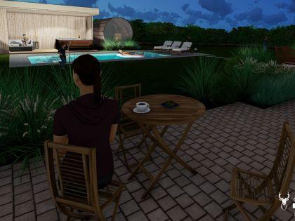 vakantiehuis met zwembad, barrelsauna en spa in de Ardennen huren