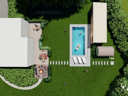Vakantiewoning met wellness, pool, hotspring en barrelsauna